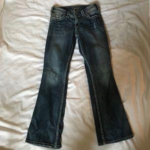 Silver Jeans Jeans - Silver Suki Surplus Bootcut Jeans Size W26/L30